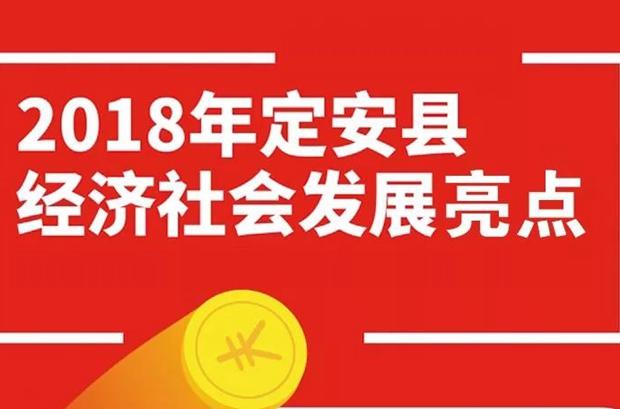 一图读懂 |2018年定安县经济社会发展亮点